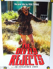 THE DEVIL'S REJECTS 13½ X 19 ORIG MINI THEATER PROMO POSTER ROB ZOMBIE (2005)