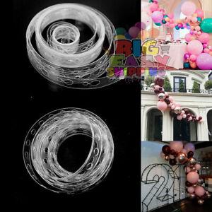 5M DIY Ballon Arch Garland Kit Birthday Weding Baby Shower Hen Party UK