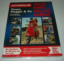 Reparaturanleitung Vespa Piaggio & Co Zweitakter 50 bis 180 ccm NEU!