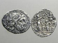 Fundania 2 Silver Quinarius_Roman Republic_Marius Victories In Gaul