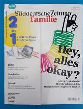 Süddeutsche Zeitung Kinder+Familie ohne WERBUNG !!! Mai/Juni 2018 ungelesen 1A