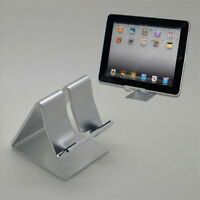 Universal Folding Aluminum Tablet Mount Holder Stand For iPad iPhone Samsung GN