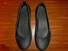 CROCS BLACK SHOES WOMENS SIZE 10