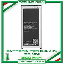 Batteria per Samsung Galaxy S5 Mini G800F EB-BG800 CAPACITA' ORIGINALE