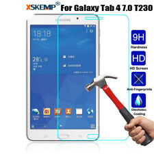 Genuine Tempered Glass Screen Protector For Samsung Galaxy Tab 4 7.0 SM-T230 231