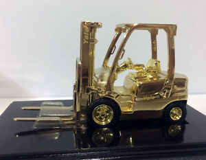 Rare!! Norscot Yale Gold Finish Lift Truck 54015G 1/25 Scale Die-Cast Model