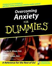 Overcoming Anxiety For Dummies by Elliott, Charles H.; Smith, Laura L.