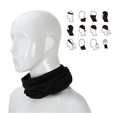 3in1 Winter Sport Thermal Fleece Scarf Snood Neck Warmer Face Mask Beanie Hat