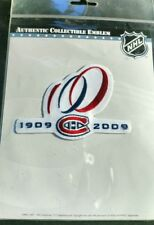 2009 Montreal Canadiens Alternate 100th Anniversary Patch Official NHL Packaged