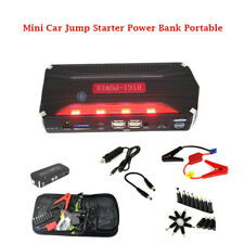 Mini  12V Car Jump Starter Power Bank Charge for Phones and Laptops 4 USB