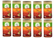 10 X Organic India Tulsi Ginger 100 Gram Tin Stress Relieving & Uplifting free s