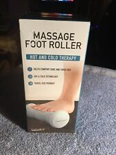 Formfit Massage Foot Roller Hot And Cold Therapy Gray New Great Stocking Gift!