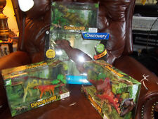 PRETEND JURASSIC Discovery RC T-Rex Radio Controlled Action Dinosaur + 3 SETS