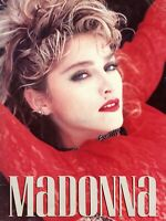 "MADONNA 1985 THE ""VIRGIN TOUR"" CONCERT PROGRAM BOOK BOOKLET"