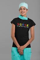Nurse T-Shirt Unisex Nurse I'll Be There For You Nursing Nurse Shirt