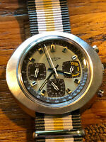 Near NOS Vintage Croton 1878 Valjoux Chronograph Swiss Made Funky