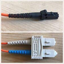 Fibre Optic Cable, MTRJ to SC 62/125, Multimode Duplex, 5 Meter  AZCM005M