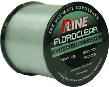P-Line FCCQ-4 Floroclear Fluorocarbon Coated Mono 4lb 600yd Clear