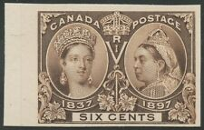 CANADA #55P4 PLATE PROOF ON CARD BS5101