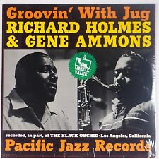 RICHARD HOLMES / GENE AMMONS: Groovin' With Jug PACIFIC Liberty SEALED LP Jazz