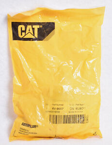 OEM CAT Caterpillar Elbow Adapter  6V-9007  Factory Sealed