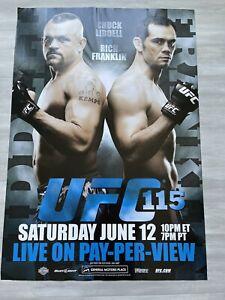 UFC 115  LIDDELL VS FRANKLIN FULL SIZE POSTER