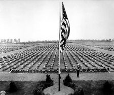 MEMORIAL DAY SERVICE IN HOLLAND  8X10 PHOTO WWII