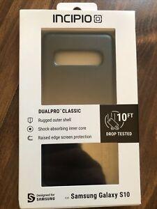 INCIPIO DualPro Classic for Samsung Galaxy S10 - Black - NEW!