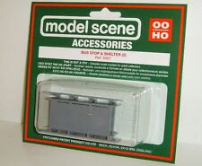 Modelscene Accessories 5007 - Bus Stop & Shelter (00) - Railway Models