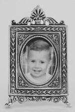 Vintage Neoclassical Style Mini Picture Frame in Fine Sterling S. Lot 20161021