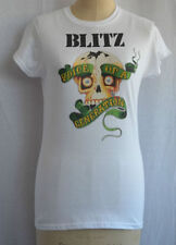 Waist Length Short Sleeve Skull Unbranded T-Shirts for Women