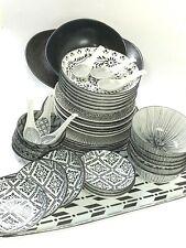 Dinner Serving Set Of 45 Pieces Moroccan Style & Colour Scratch & Dent Sale