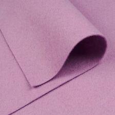 Woolfelt Wisteria Purple ~ 22cm x 90cm / quilting wool felt fabric light lilac