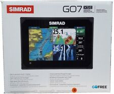 Simrad GO7 XSE GPS WiFi CHIRP Chartplotter Fishfinder Insight Charts & TotalScan