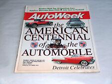 Autoweek Luglio 1996 Auto Camion Rivista il Americana Centennial di Automobile