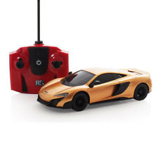 Oficial McLaren g75lt Rc radiocontrol remoto coche escala 1.24 oro