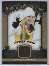 2014 UPPER DECK GOODWIN CHAMPIONS LINDSEY VONN RELIC CARD ~ ALPINE SKIING GREAT