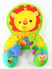 Fisher Price Playtime Tummy Wedge W/Toys Jungle Animals Pillow