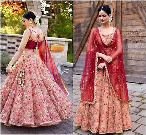 Pakistani Lahengha Wedding Dress Collection Indian Designer Bridal Lehnga Choli