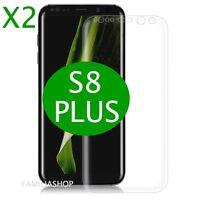 Lot de 2 Films Protection Entier Incurvé Pour Samsung Galaxy S8 PLUS