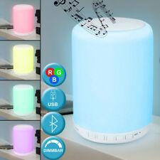 RGB LED Tisch Hänge Lampe Touch Dimmer Bluetooth Lautsprecher Mikrofon FM Radio