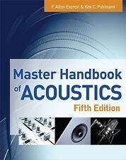 Master Handbook of Acoustics, , Pohlmann, Ken, Everest, F. Alton, Good, 2009-06-