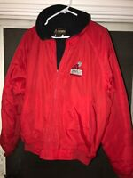 Vintage 1997 Mammoth Motocross Event Jacket Gerry Fleece Lined Racing Staff