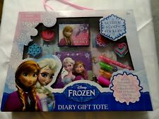 Disney Frozen Elsa and Anna Diary Gift Tote brand new