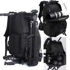 Photographer Professional Vogue Deluxe DSLR Camera Bag Backpacks For Canon Nikon