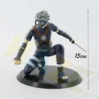 Anime Hatake Kakashi PVC Figure Model Toy 15cm New