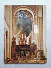 Original Collage Art (Postcard Size) by Joyce and Vicky 'Organ Grinder'
