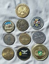 Lot Of 10 US ARMY Military Challenge Coins