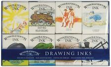 Winsor & Newton Drawing Inks The William Collection 8 x 14ml Colour Set