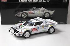 1:18 Sunstar Lancia Stratos HF rally Sanremo 1979 #2 New en Premium-modelcars